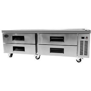 "Saba Air - 72"" (4) Four Drawer Chef Base Cooler-SB-SCB72-8117-N - Maltese & Co New and Used  restaurant Equipment"
