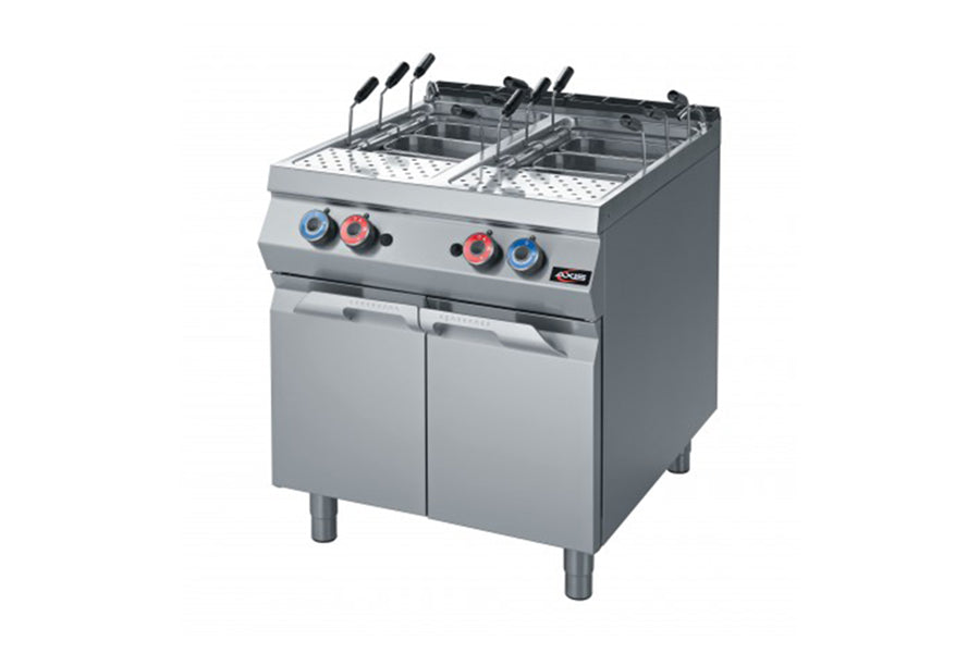 New Axis - AX-GPC-2 - Gas Pasta Cooker - Maltese and Co Restaurant Equipment