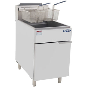 CookRite - 75lbs, 5 Burners, Independent Manual Control - Natural Gas - Maltese & Co New and Used  restaurant Equipment