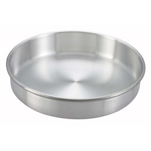 "Winco - ACP-102 - Layer Cake Pan, 10"" x 2"", Aluminum - Bakeware - Maltese & Co New and Used  restaurant Equipment"