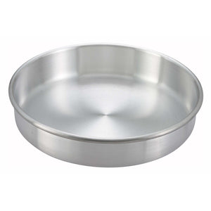 "Winco - ACP-103 - Layer Cake Pan, 10"" x 3"", Aluminum - Bakeware - Maltese & Co New and Used  restaurant Equipment"