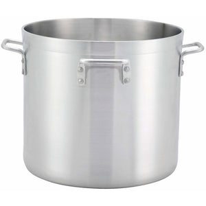 Winco - ALHP-160H - 160qt Alu Stock Pot w/4 Handles, 6mm, Precision - Cookware - Maltese & Co New and Used  restaurant Equipment