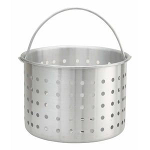Winco - ALSB-32 - 32qt Alu Steamer Basket for ALST-32, ALHP-32, AXS-32, AXHH-32 - Cookware - Maltese & Co New and Used  restaurant Equipment