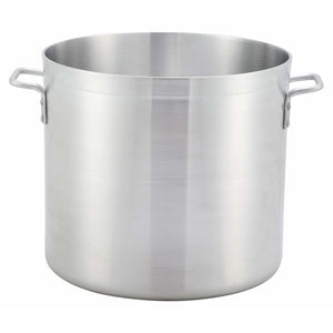 Winco - ALST-100 - 100qt Alu Stock Pot, 4.75mm, Winware - Cookware - Maltese & Co New and Used  restaurant Equipment