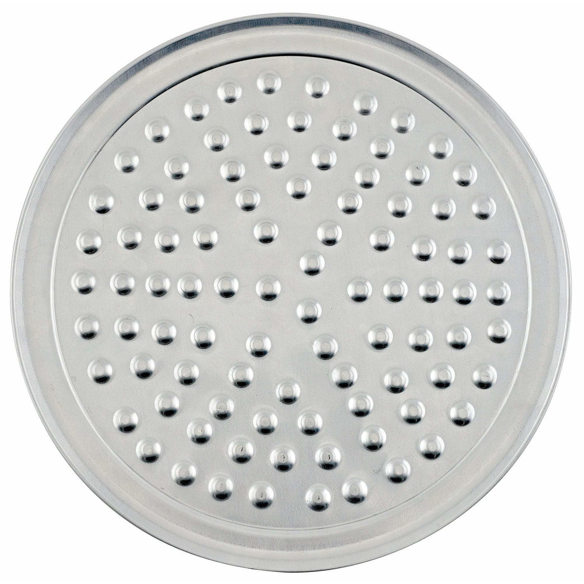 "Winco - APZN-6 - Aluminum Wide Rim Pizza Tray with Nibs, 6"" - Pizza Supplies"