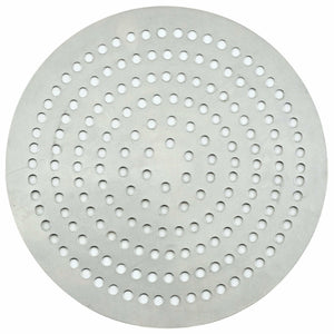 "Winco - APZP-7SP - Aluminum Super-Perforated Pizza Disk, 7"" Diameter, 72 Holes - Pizza Supplies"