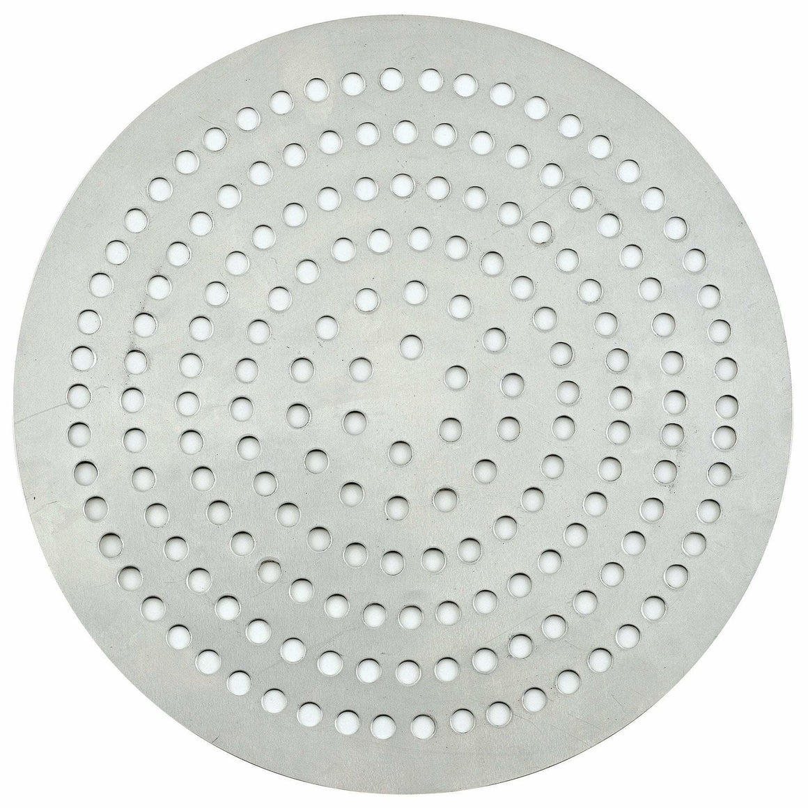 "Winco - APZP-9SP - Aluminum Super-Perforated Pizza Disk, 9"" Diameter, 114 Holes - Pizza Supplies"