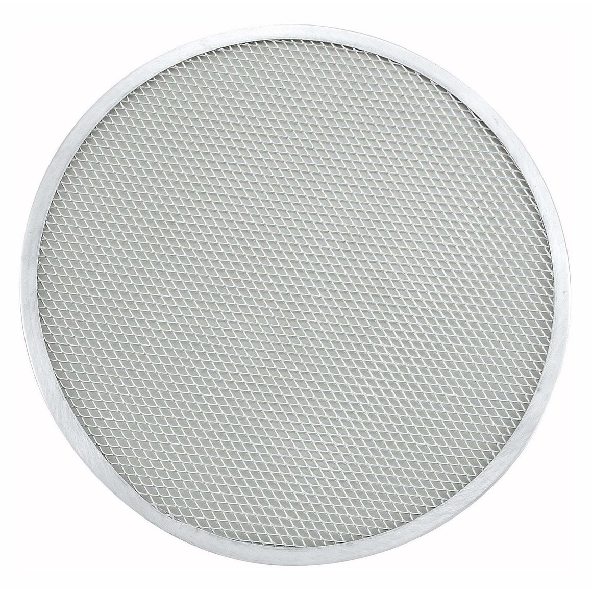"Winco - APZS-12 - 12"" Seamless Pizza Screen, Aluminum - Pizza Supplies"