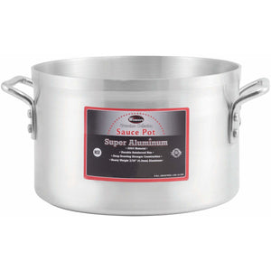 Winco - AXAP-8 - 8qt Alu Sauce Pot, 4mm, Super Aluminum - Cookware - Maltese & Co New and Used  restaurant Equipment