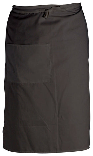 Crestware - BBL - Bistro Apron 2 Pocket - Black - Maltese & Co New and Used  restaurant Equipment