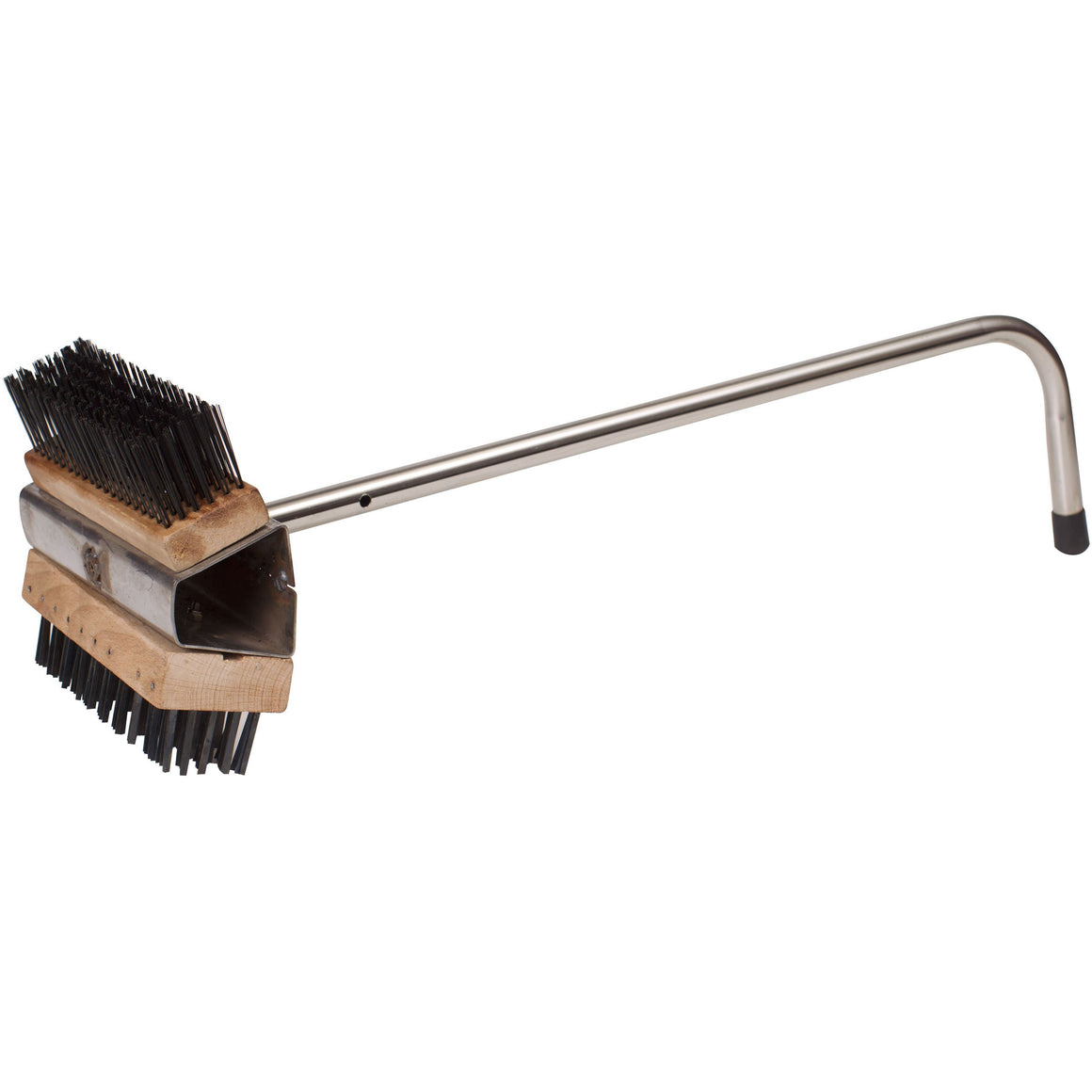 "Winco - BR-21 - Wire Oven Brush, Dual Headed, 26-1/2"" Hdl - Pizza Supplies"