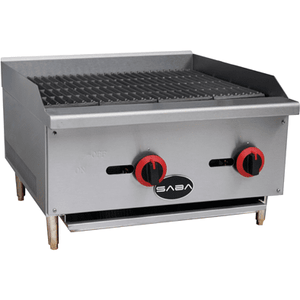 "Saba Air - 24"" Char-Broiler, Counter-top-SB-CB24-A12FR10179-N"