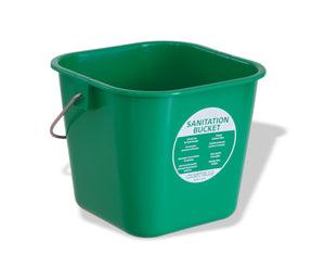 Crestware BUCSG Sm. Green Cleaning Bucket 3 qt - Maltese & Co New and Used  restaurant Equipment