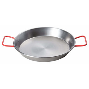 "Winco - CSPP-11 - 11"" Paella Pan, Polished Carbon Steel (Spain) - Cookware - Maltese & Co New and Used  restaurant Equipment"