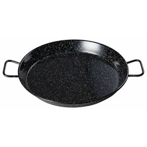 "Winco - CSPP-23E - 23-5/8"" Paella Pan, Enameled Carbon Steel (Spain) - Cookware - Maltese & Co New and Used  restaurant Equipment"