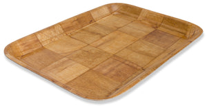 Crestware - CWT1014 - Woven Wood Tray Rect. 10x14 - Maltese & Co New and Used  restaurant Equipment