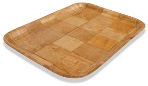 Crestware - CWT1216 - Woven Wood Tray Rect. 12x16 - Maltese & Co New and Used  restaurant Equipment