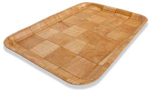 Crestware - CWT1319 - Woven Wood Tray Rect. 13x19 - Maltese & Co New and Used  restaurant Equipment