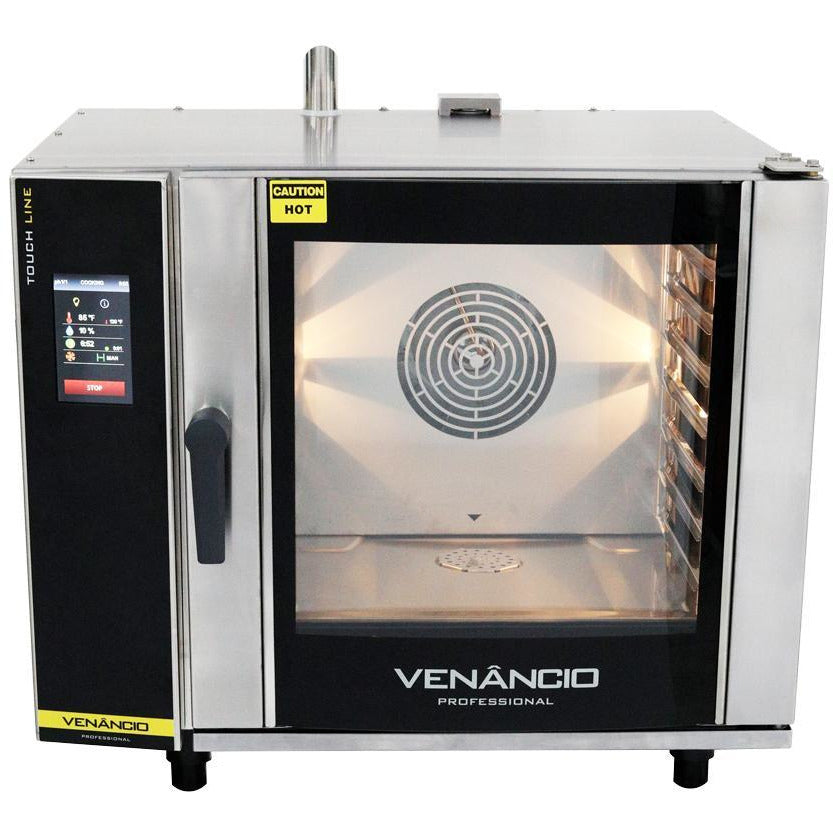 Venancio - Full Size 6 Trays Electric Combi Oven - Digital Controls, Recipes - WIFI - TCO6E