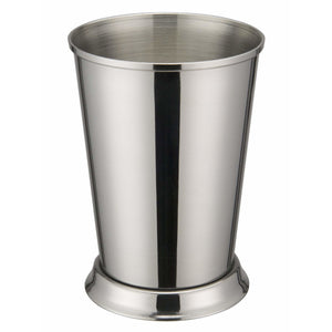"Winco - DDSE-102S - 3-3/8""Dia x 4-3/4""H Mint Julep Cup, Stainless Steel - Tabletop"