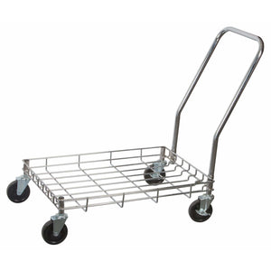 "Winco - DWR-2617 - Wire Dolly 26-3/4""L x17-3/4""W x2-3/8""H, for dough boxes - Food Storage"