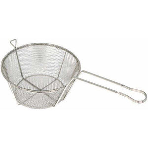 "Winco - FBRS-11 - Fry Basket, Wire, 6 Mesh, 10-1/2""Dia x 6""H - Cookware - Maltese & Co New and Used  restaurant Equipment"