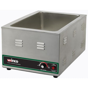 "Winco - FW-S600 - Electric Food Warmer/Cooker, 20"" x 12"" Opening, 1500W, 120V - Countertop"