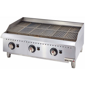 Winco - GCB-36R - Spectrum Gas Broiler / Radiant + 1 set conversion kit - Countertop