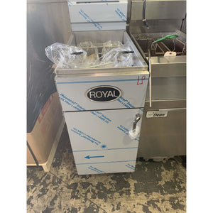 RFT-50 ROYAL DEEP FRYER