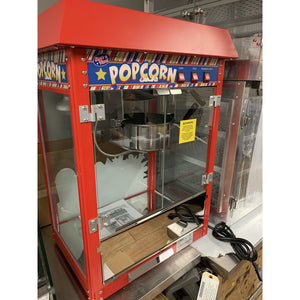 WINCO POPCORN MACHINE ELECTRIC COUNTERTOP POP-8R - Maltese & Co New and Used  restaurant Equipment