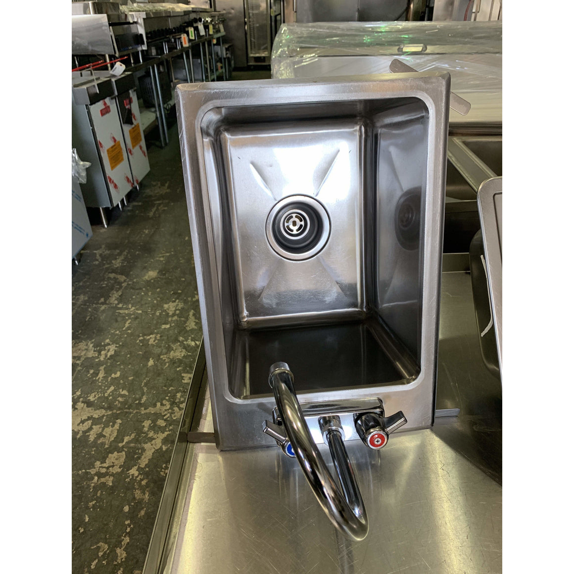 USED - KROWNE DROP-IN HAND SINK - Maltese & Co New and Used  restaurant Equipment