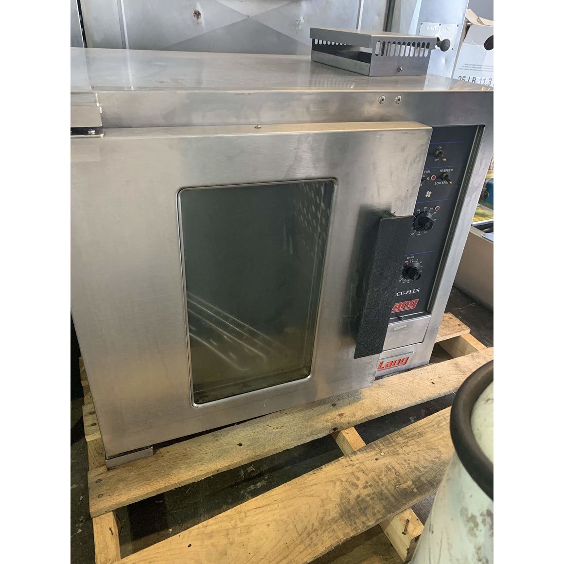 Used Lang convection oven EHS-AP