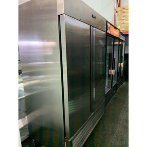 SG Merchandising Solutions Two Solid Door Freezer DD49-SDSS-FZ - Maltese & Co New and Used  restaurant Equipment