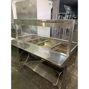 Used Steam Table 4 wells