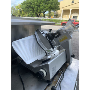USED BIZERBA ELECTRIC MANUAL RESTAURANT SLICER