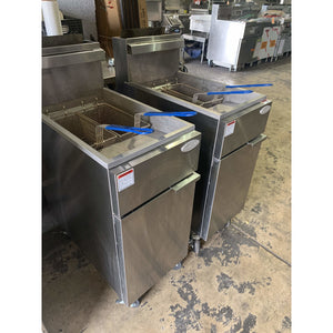 USED ATOSA DEEP FRYER 50LB NATURAL GAS ATFS-50 - Maltese & Co New and Used  restaurant Equipment