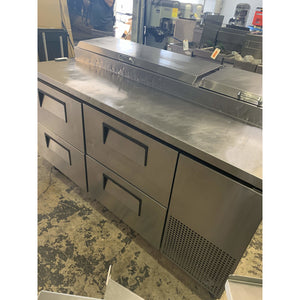 USED TRUE PIZZA PREP (4) DRAWERS TPP-67D-4 - Maltese & Co New and Used  restaurant Equipment