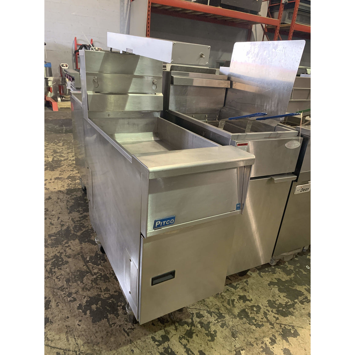 USED PITCO DUMP STATION FRYER SG-BNB-14