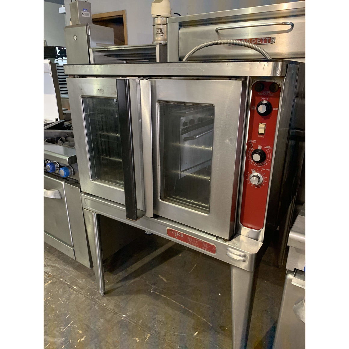 USED BLODGETT CONVECTION ELECTRIC OVEN MARK V- 100 SGL