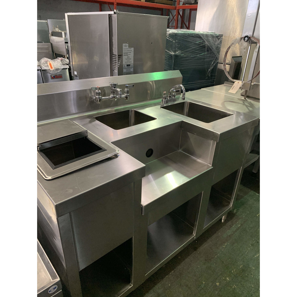 USED EAGLE  COMBI COCKTAIL STATION W/ ICE BIN