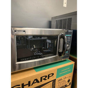 SHARP MICROWAVE OVEN 1000 WATTS R-21LCFS - Maltese & Co New and Used  restaurant Equipment