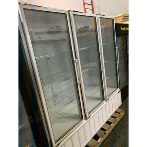 USED MASTER BILT THREE GLASS DOOR COOLER BMG-74 - Maltese & Co New and Used  restaurant Equipment