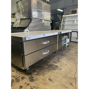 KOOL-IT CHEF BASE REFRIGERATOR EQUIP STAND KCB-96-4M - Maltese & Co New and Used  restaurant Equipment