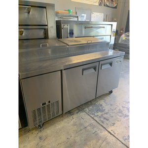 USED KAIRAK 2 DOOR PIZZA PREP TABLE KRP-72S - Maltese & Co New and Used  restaurant Equipment