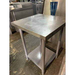 "USED WORK TABLE 24""W x 24""D - Maltese & Co New and Used  restaurant Equipment"