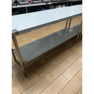 ATOSA STAINLESS STEEL WORK TABLE 24x72 SSTW-2472 - Maltese & Co New and Used  restaurant Equipment