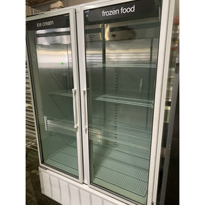 MASTER BILT FREEZER MERCHANDISER 2 DOOR BLG-48HD - Maltese & Co New and Used  restaurant Equipment
