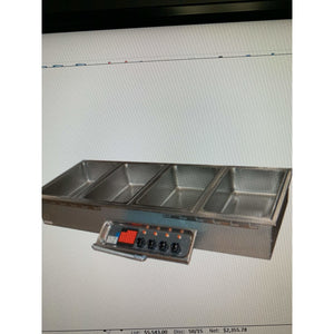 USED APW FOOD WARMER WELL UNIT, DROP-IN ELECTRIC HFW-4D - Maltese & Co New and Used  restaurant Equipment