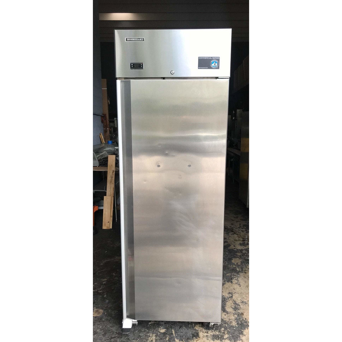 Hoshizaki CR1B-FS Single Door Stainless Steel Cooler