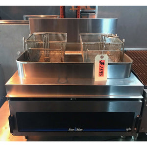 Star Max Counter-Top 30 Pound Fryer